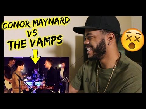 Ed Sheeran  Shape Of You SING OFF vs The Vamps REACTION!!