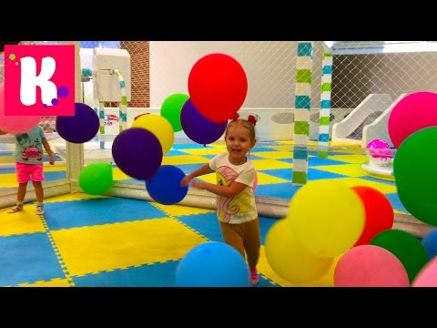 ВЛОГ Киев/ гладим животных/ играем на детской площадке Kidswill/ магазин игрушек - Прикольное видео онлайн
