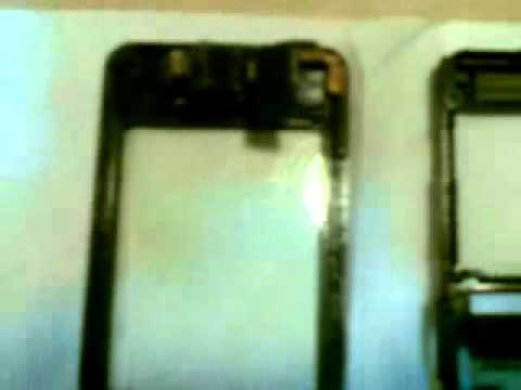Disassembled Samsung F480i Touch Phone.flv