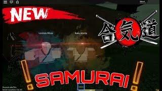 NEW SAMURAI ROGUE LINEAGE STYLE GAME!?   SAMURAI   ROBLOX