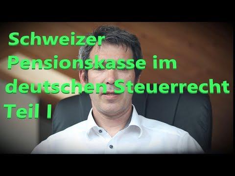 Schweizer Pensionskasse im deutschen Steuerrecht