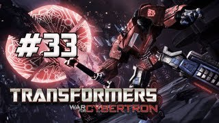 Transformers War for Cybertron Walkthrough - Part 33 [Chapter 9] Aerial Assault Let's Play