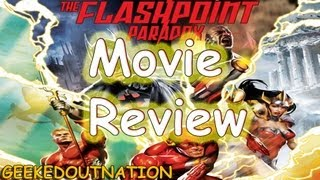 Justice League The Flashpoint Paradox | Movie Review | The Flash