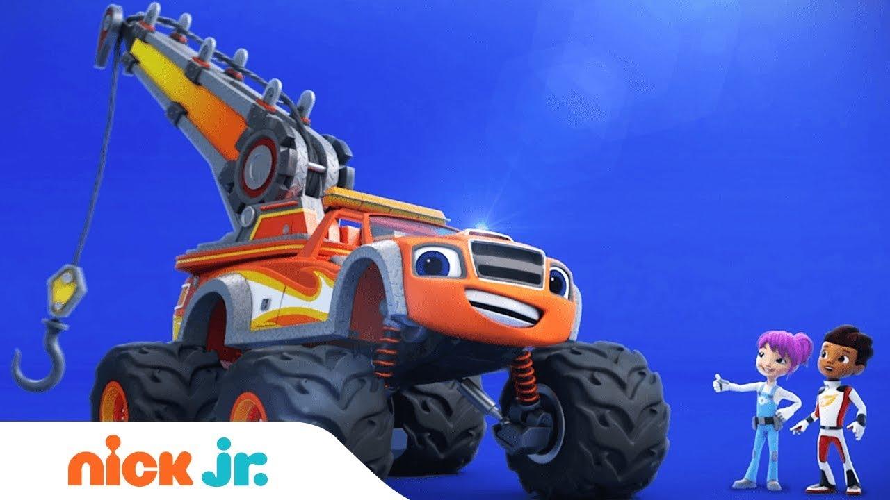 'Blaze Tow Truck Tough' Special Episode Airs Nov. 22nd ...