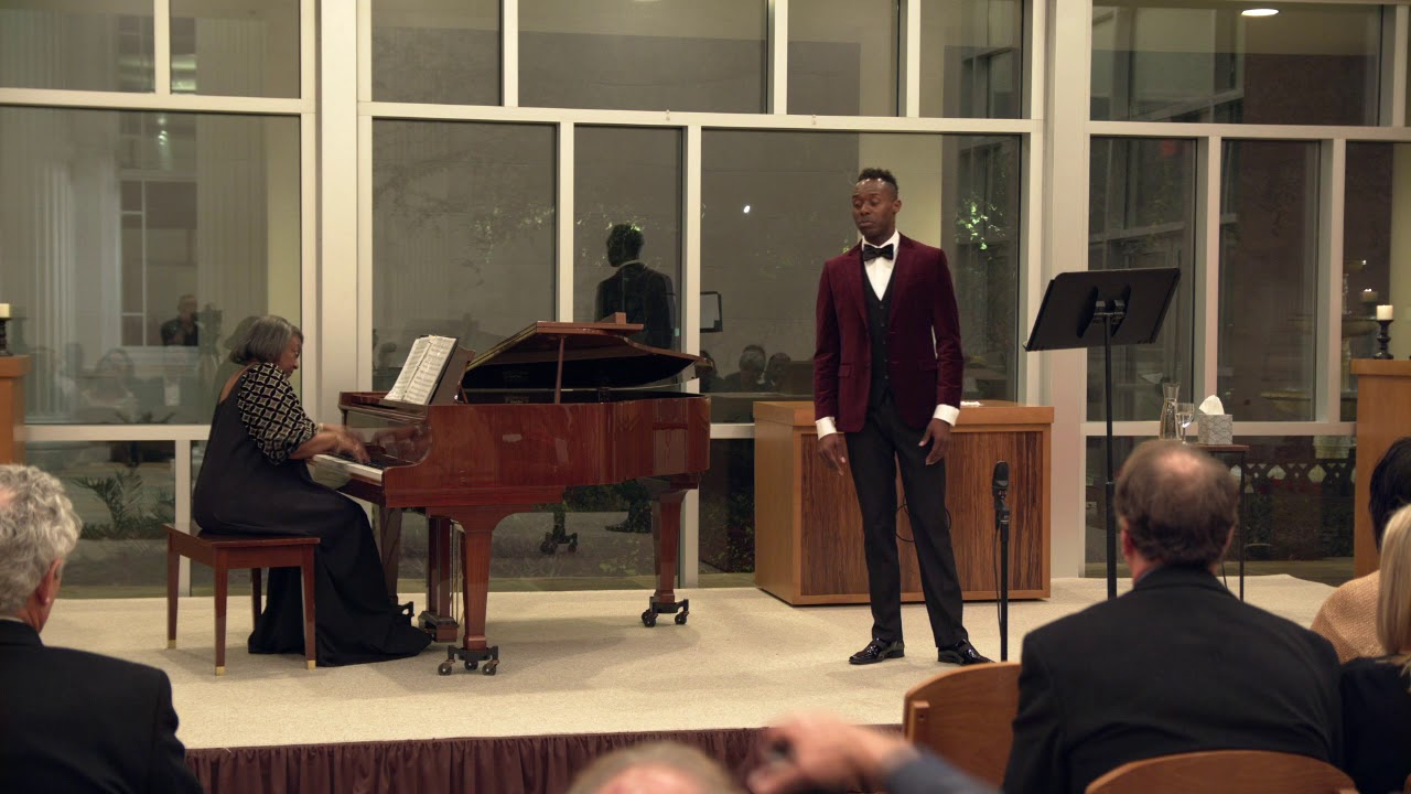 Lascia ch'io pianga by Handel - Donovan Black (countertenor), Dr. Barbara Bouie (piano)