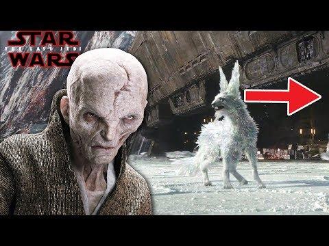 Snoke's Planet Of Origin Is Crait? - STAR WARS