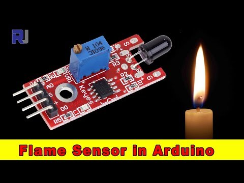 Flame Sensor For Arduino With Code