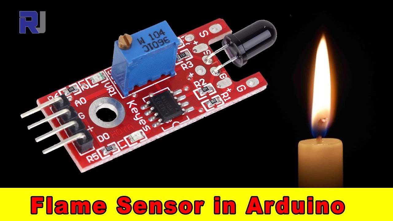 Flame Sensor for Arduino with code on infrared motion sensor circuit diagram, siemens flame detector wiring diagram, infrared temperature sensor diagram, wireless door sensor open circuit diagram, infrared connector on computer diagram,