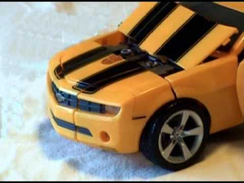 Ultimate Bumblebee stop motion transformation