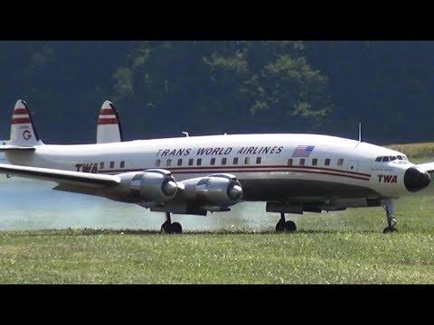 TWA Lockheed Super Constellation L-1049 RC Airliner OLDTIMER AIRPLANE