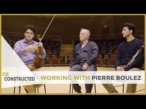 Working with Pierre Boulez - Daniel Barenboim | Deconstructed [subtitulado]