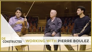 On working with Pierre Boulez... - Daniel Barenboim | Deconstructed [subtitulado]
