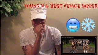 """Young M.A is the best female rapper!👀 """"BIG"""" reaction"""