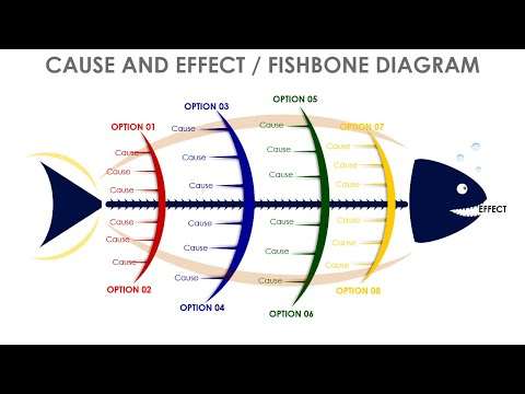 Fishbone Diagram Slide In PowerPoint