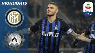 Inter 1-0 Udinese | Cheeky Icardi Panenka Wins It for Inter | Serie A