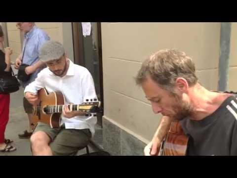 Le duo Musettes joue Douce Ambiance de Django