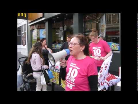 Leicester TUSC: Global Fastfood Rights Day of Action
