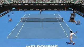 Full Ace Tennis Simulator - Federer vs Djokovic Highlights
