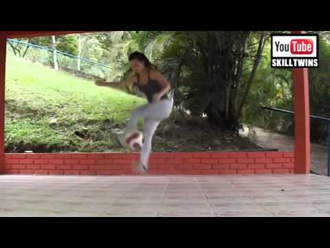 The BEST FEMALE Street Football Freestyle Skills EVER HD RonaldoNeymarMessi Style Low