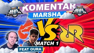 AURA VS RRQ MATCH KE-1 !!! TOP GLOBAL LING WIZZKING BERAKSI !!! ft. Oura