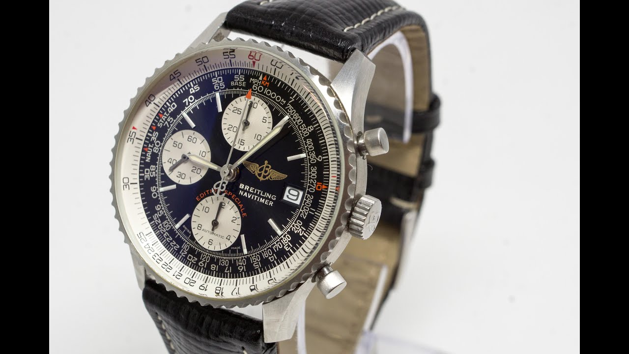 Breitling For Bentley >> Breitling Navitimer Fighters Special Edition - YouTube