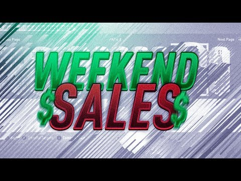Weekend Sales #2 - TOTGS Market Crash - Two Icon Flips