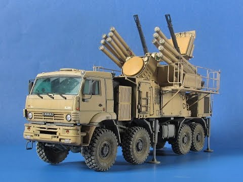 ЗРПК Панцирь-С1 / Tiger Model / 1:35