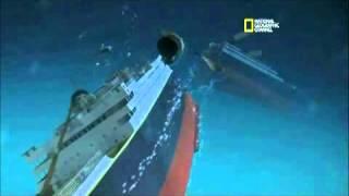 Nueva reconstrucción del hundimiento del Titanic