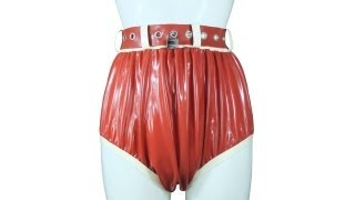Repeat youtube video AB/DL Lockable Rubber Diaper Pants