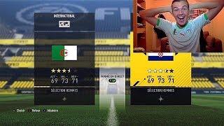 COMMENT AVOIR L'ALGERIE ET LA CROATIE SUR FIFA 19 ?!