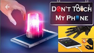 Don't Touch My Phone  AlarmAnti Theft Alarm app to save your mobile from unknown person all to one   screenshot 2