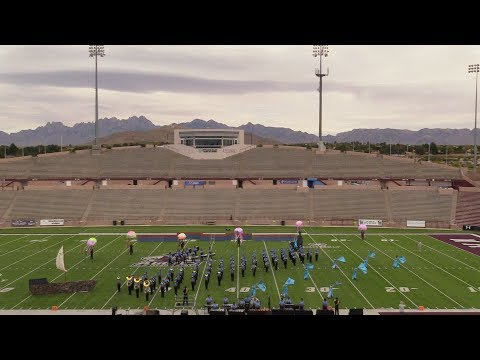 CHAPIN HIGH SCHOOL PRELIMS  TOB NM MARCHING BAND PERFORMANCE COLOR GUARD
