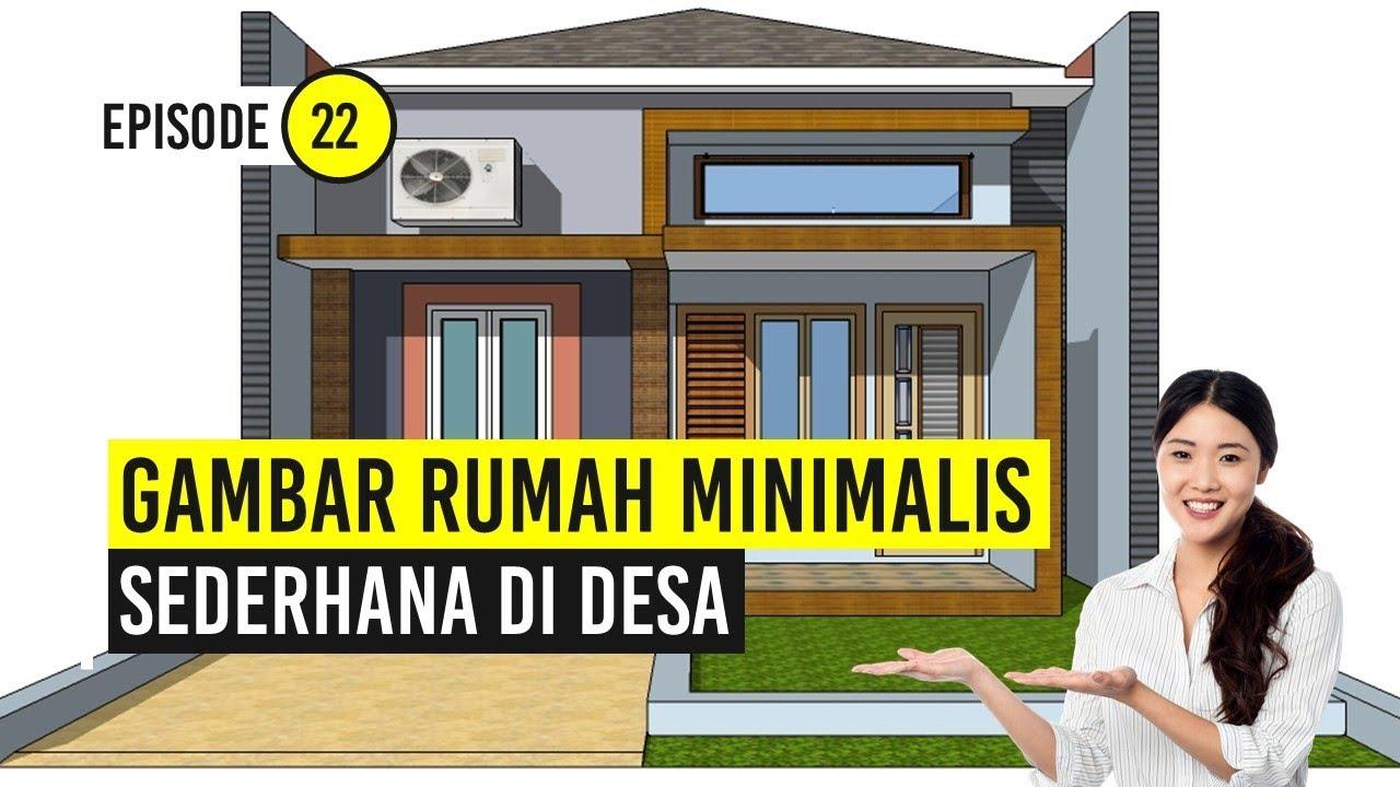 Gambar Rumah Minimalis Sederhana Di Desa Youtube