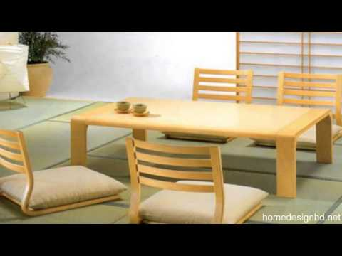 Japanese Dining Room Furniture for a Minimalist Japanese Style ...