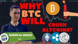 Why Bitcoin BTC WILL Crush Altcoins In 2019!