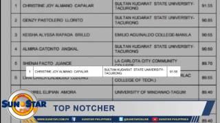 UC grad mi-top sa Criminology Licensure Exam