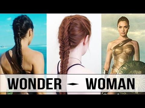 Wonder Woman Warrior Braid Tutorial