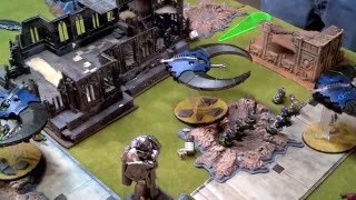 7ed Warhammer 40k Battle Report Necrons vs Dark Eldar 1500pts