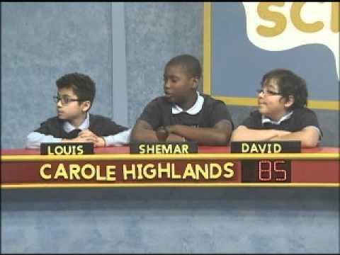 Science Bowl: Carole Highlands vs  Dodge Park