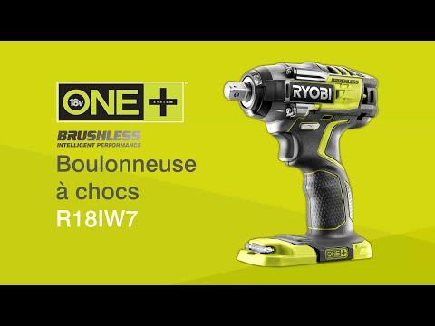 Boulonneuse à chocs sans fil Brushless 18V ONE+™ R18IW7 RYOBI®
