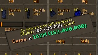 How I Made 182M OSRS In 7 Hours Playing DMM Seasonal