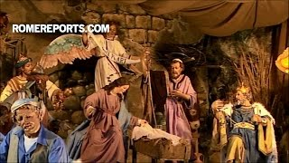 Ý nghĩa của hang đá và cây thông Giáng Sinh ở Quảng trường Thánh Phêrô