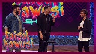 Unglaublich! Farid liest Faisals Gedanken - Faisal Kawusi Show