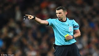 Juventus president Andrea Agnelli claims ref Michael Oliver 'completely lost control' of
