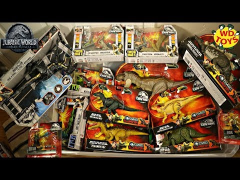 New Jurassic World Dino Rivals HUNT FOR DINOSAUR TOYS Fallen Kingdom Mattel 3 Target & 5 Walmart