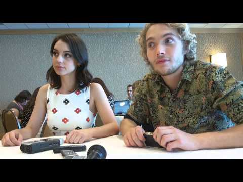 Interview with Reign stars Adelaide Kane and Toby Regbo at SDCC 14
