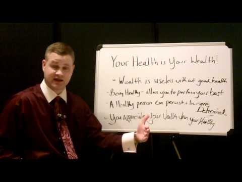"Success Secrets ""Your Health is Your Wealth"""
