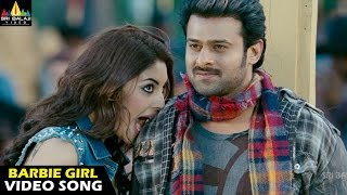 Mirchi Songs | Barbie Girl Video Song | Prabhas, Anushka, Richa | Sri Balaji Video