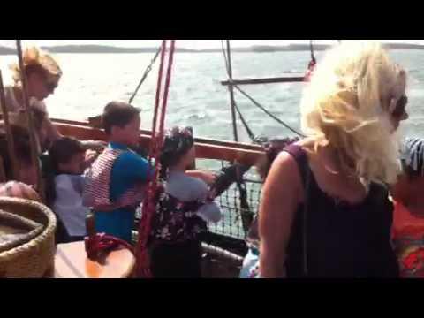 Jordan sprays Slash - Pirate Venture 2011