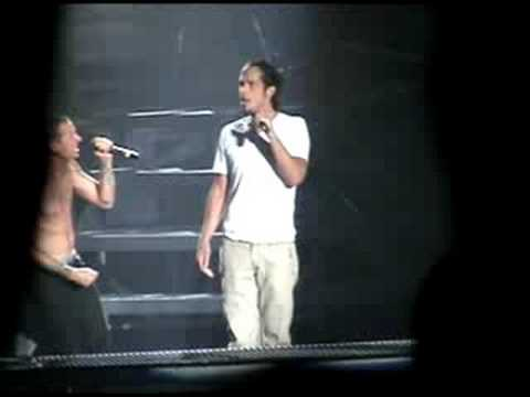 """Projekt Revolution 08, Linkin Park """"Crawling and In the End"""" part 10"""